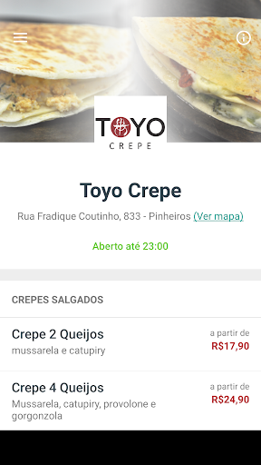 Toyo Crepe Delivery