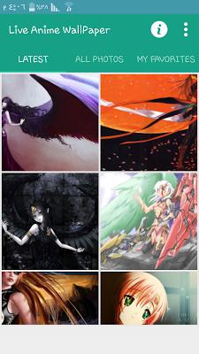 Live Anime Wallpaper - screenshot