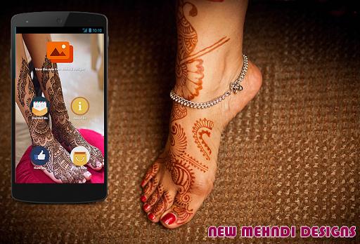 Feet Mehndi Designs 2016