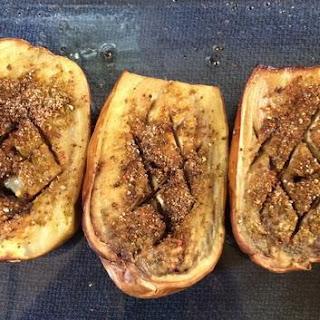 Roasted Eggplant with Pepper Salt Recipe