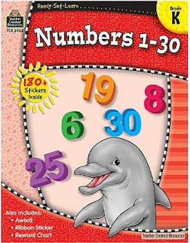 Ready-Set-Learn: Numbers 1-30 Grade K - Teacher Created Resources