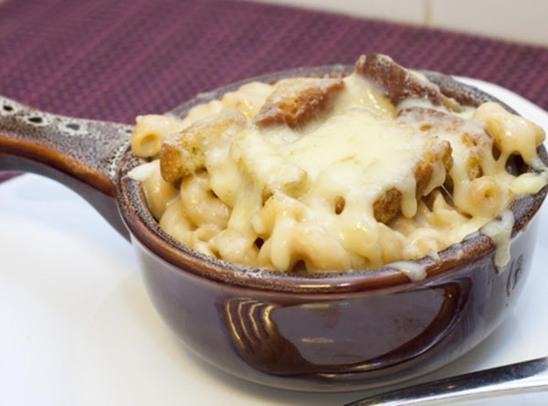 French Onion Mac And Cheese!! Recipe