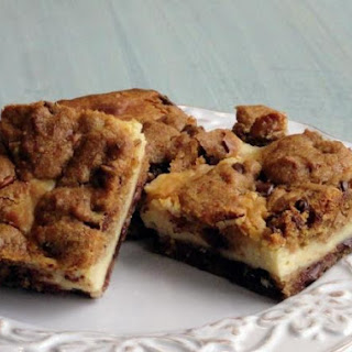 Chocolate Chip Cream Cheese Brownies