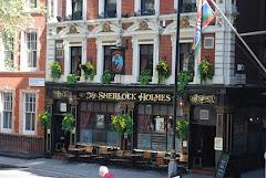 Visiter Sherlock Holmes Pub