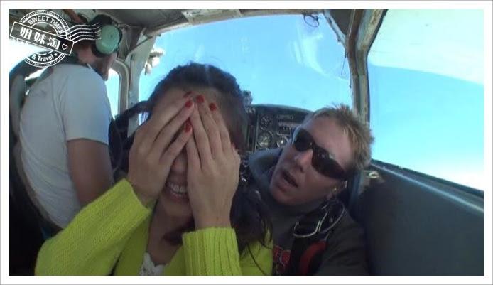 跳傘極限運動skydiving