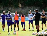 De retour de vacances, Amuzu, Bornauw, Cobbaut et Saelemaekers ont rejoint le groupe Anderlechtois