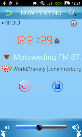 android Zulu Radio Screenshot 2