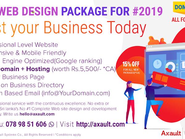 Web Design Sri Lanka - Axault IT Solution