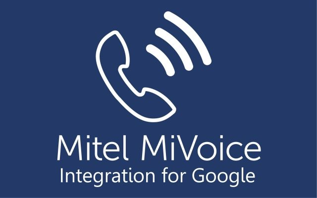 MiVoice Integration for Google