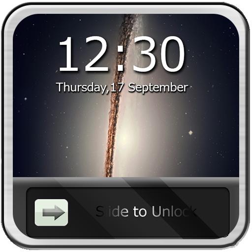 移动滑块来解锁智能屏幕 工具 App LOGO-APP試玩