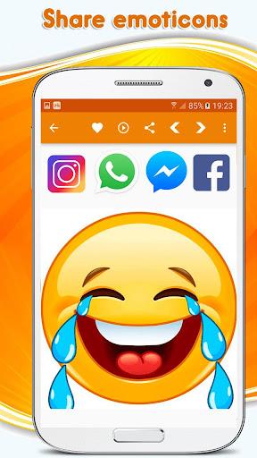 Emoticons, emoji stickers for whatsapp 3.0.0 screenshots 3