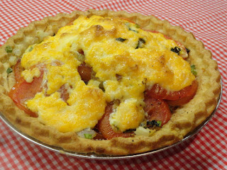 Tomato Herb Pie Recipe