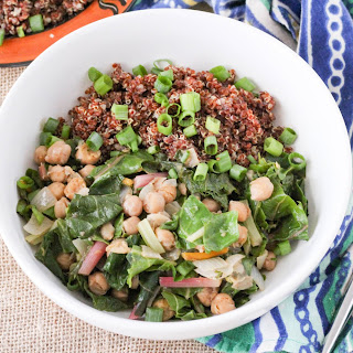 African-Spiced Chickpeas and Greens