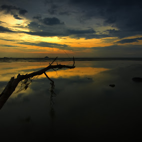 there by Faareast Mk - Landscapes Sunsets & Sunrises ( leading line, orange, sunset, asia, malaysia, jeram )