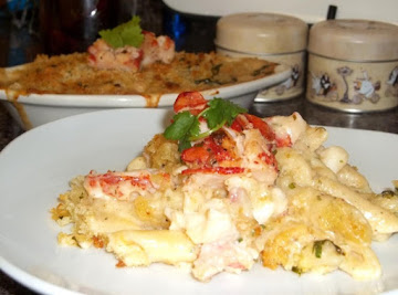 Gayle's Decadent Lobster Mac & Cheese Recipe