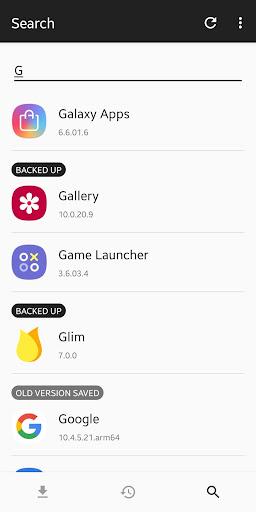 Backup + Restore (apk, obb + data) screenshot 5