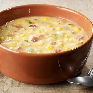 Corn Chowder Accompaniments Recipes.