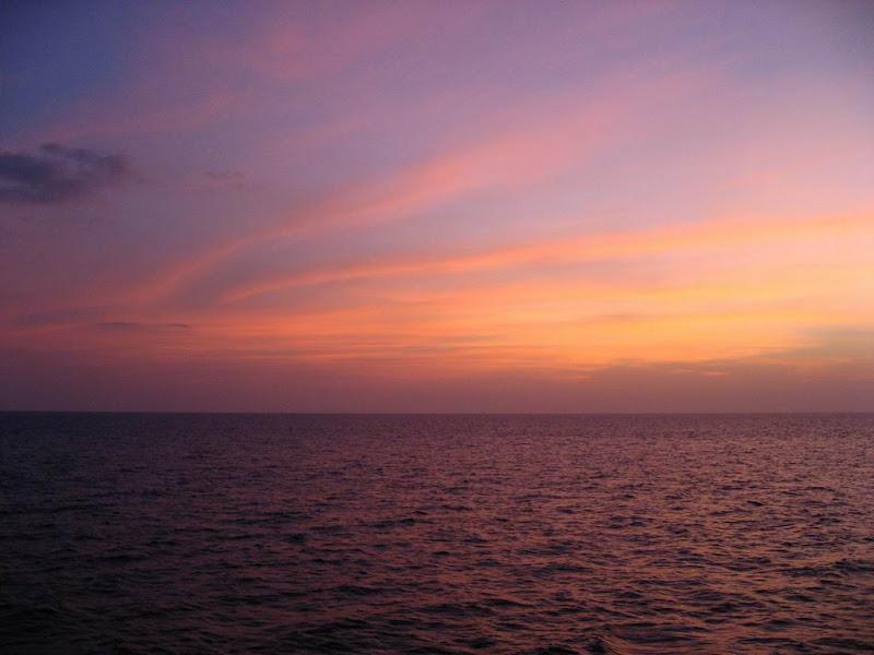 Photo: #094-Coucher de soleil sur les Mergui
