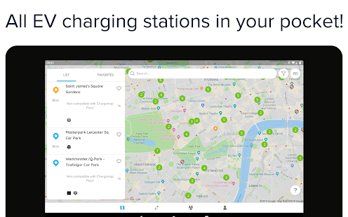 Chargemap - Charging stations