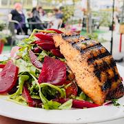 Salmon & Beet Salad