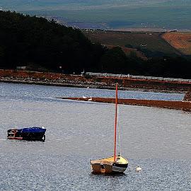 No  sail by Gordon Simpson - Transportation Boats