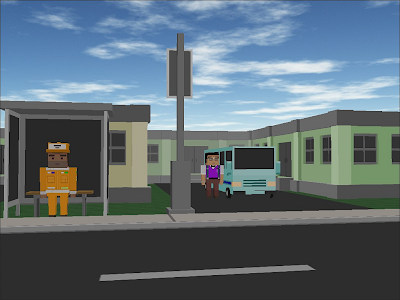 City Bus Craft Simulator screenshot 18
