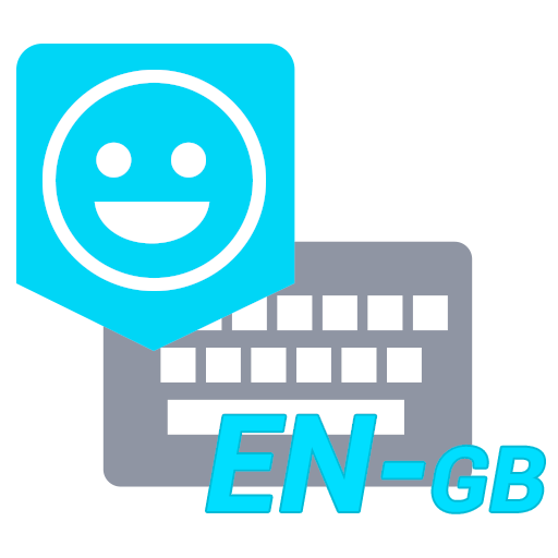 UK English Dictionary - Emoji Keyboard Icon