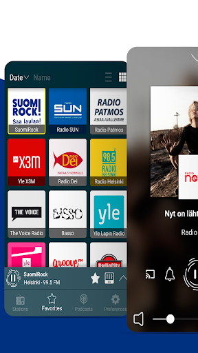 Nettiradio Suomi - Internet Radio, FM Radio screenshots 1
