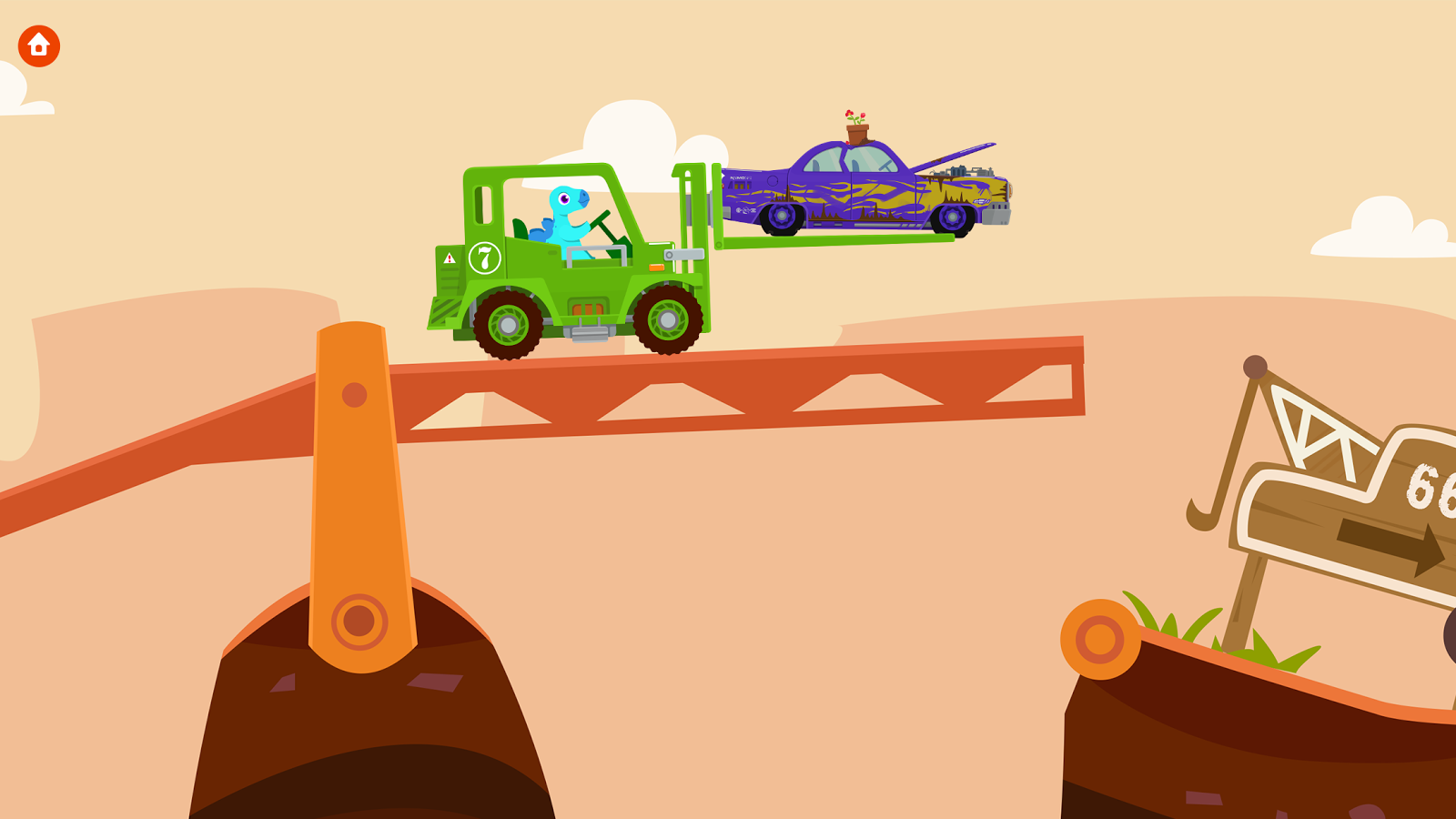 Dinosaur Rescue: Trucks- screenshot