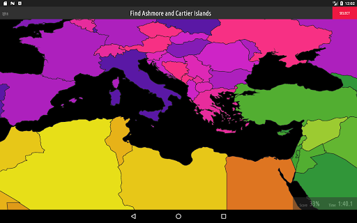 Blank Map Quiz screenshots 9