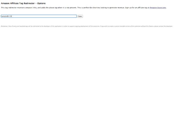 Amazon Tag Redirector
