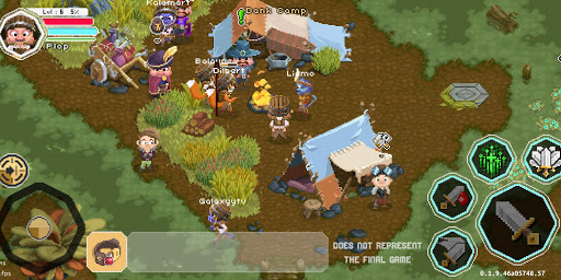 Naica Online - MMORPG 2D  captures d'écran 2