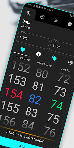 Blood Pressure 4.4.5 screenshots 1