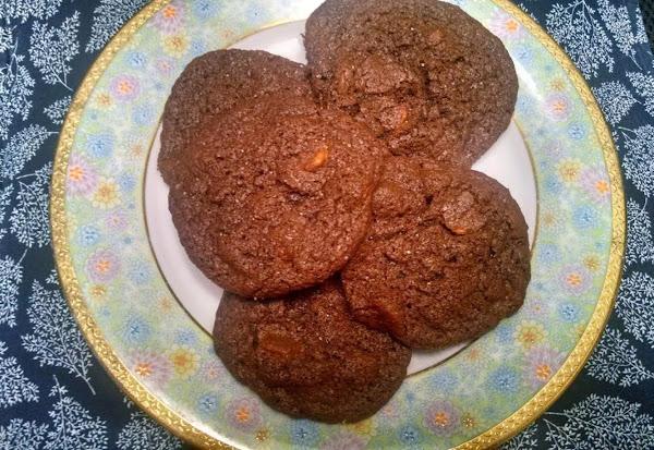 Salted Chocolate Caramel Cookies Recipe