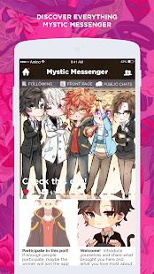 RFA Amino for Mystic Messenger - náhled