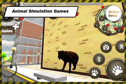 野生のクマのシミュレータ