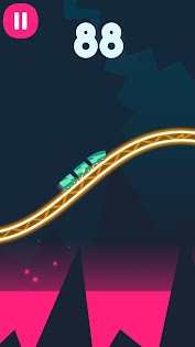 Rollercoaster Dash game (apk) free download for Android/PC/Windows screenshot