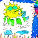 Mandala Season Coloring Book icon