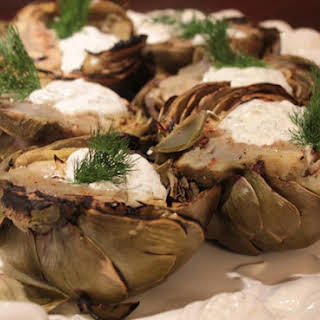 Grilled Artichokes.