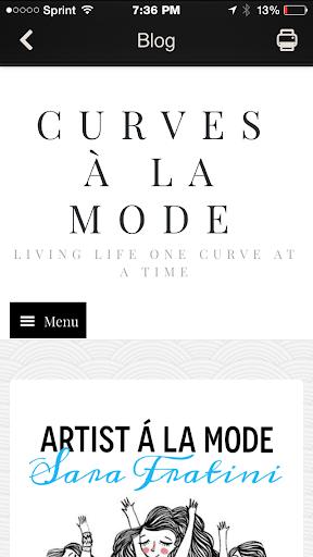 Curves à la Mode