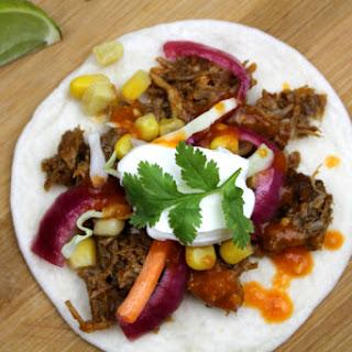 Pressure Cooker Pork Tacos.