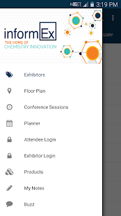 InformEx 2016 screenshot