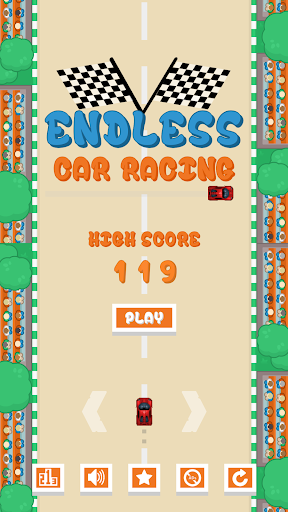 Endless Car Racing