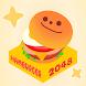 中毒パズル ハンバーガー 2048 - Androidアプリ
