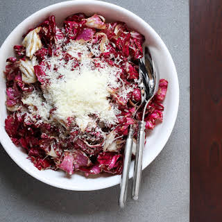Radicchio Salad With Manchego.