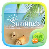 FREE - GO SMS PRO SUMMER THEME