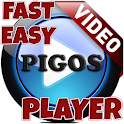 Pigos Video Player (Fast,Easy) icon