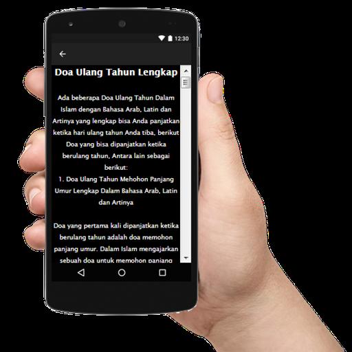 Doa Ulang Tahun Islami Terlengkap Dan Uptudate Android