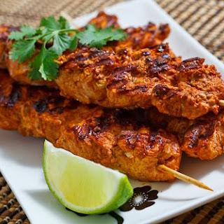 Grilled Tandoori Chicken.