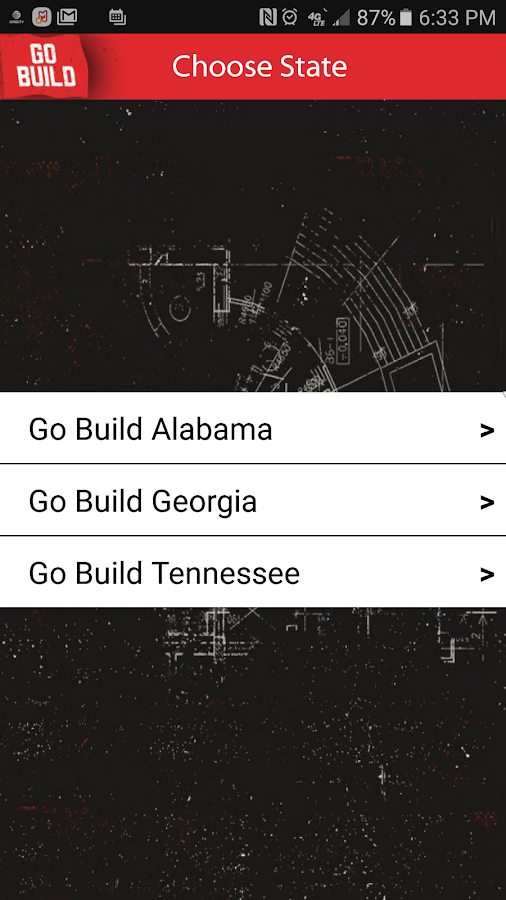 Go Build- screenshot